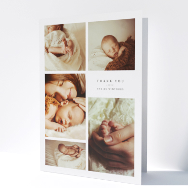 Related Product: Printed Baby Thank You Cards