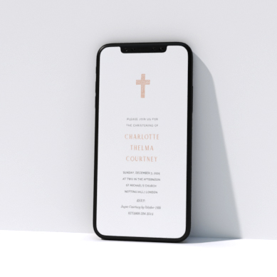 Related Product: Digital Christening Invitations for WhatsApp