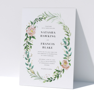 Related Product: Printed Personalised Wedding Invitations
